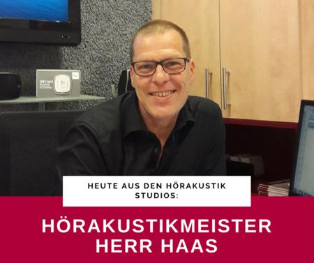 Unser Team stellt sich vor - heute: Herr Haas